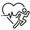 Mesure fréquence cardiaque au poignet montre gps Polar Vantage V